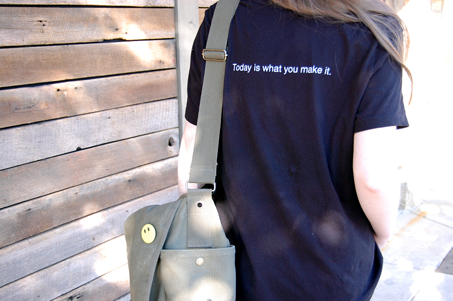 Today is what YOU make it tshirt back